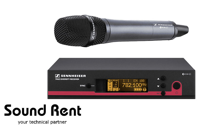Радиомикрофон Sennheiser ew 135 G3/ SKM 100-835 G3
